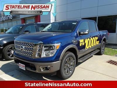 New 2017 Nissan Titan Platinum Reserve