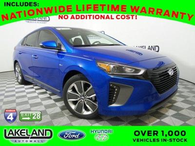 New 2017 Hyundai IONIQ Hybrid Limited