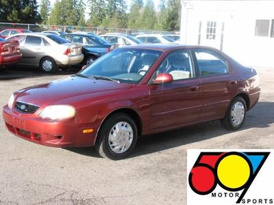 Used 2002 Kia Spectra GS