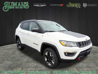 New 2017 Jeep Compass Trailhawk