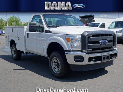 2016 Ford F-250 KNAPHEIDE OPEN SERVICE BODY