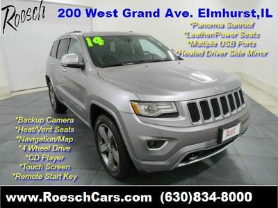 Used 2014 Jeep Grand Cherokee Overland