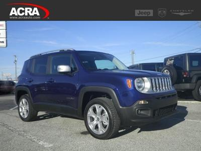 New 2016 Jeep Renegade Limited