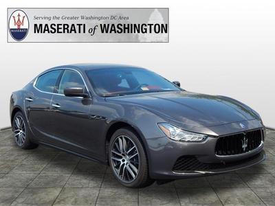 New 2016 Maserati Ghibli S