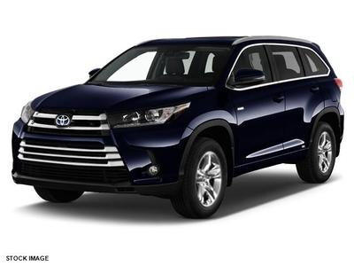 New 2017 Toyota Highlander Hybrid Limited