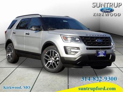 New 2017 Ford Explorer sport