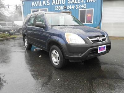 Used 2002 Honda CR-V LX