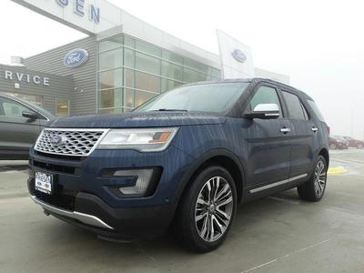 Certified 2016 Ford Explorer Platinum