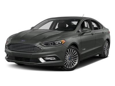New 2017 Ford Fusion Hybrid Titanium