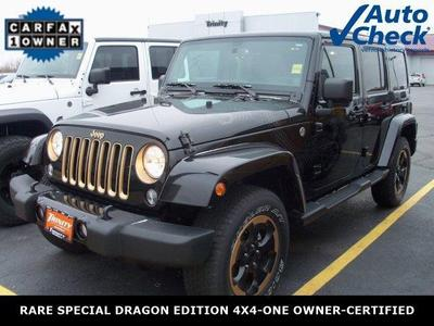 Certified 2014 Jeep Wrangler Unlimited Sahara