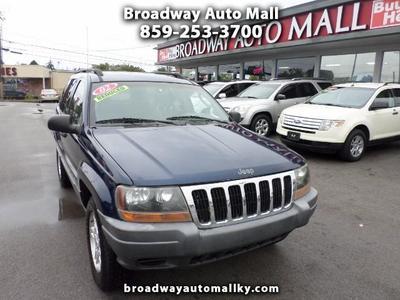 Used 2002 Jeep Grand Cherokee Laredo