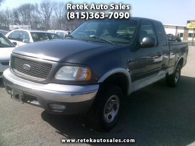 Used 2002 Ford F-150 XLT SuperCab