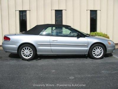 Used 2002 Chrysler Sebring LXi