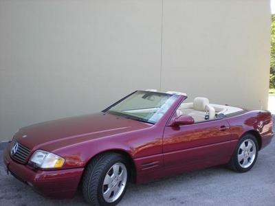 Used 2000 Mercedes-Benz SL500 Roadster