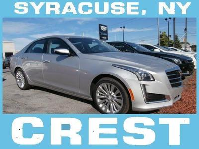 New 2015 Cadillac CTS 2.0L Turbo Luxury