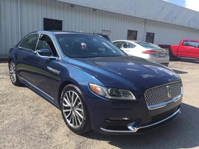 Used 2017 Lincoln Continental Select