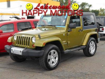 Used 2008 Jeep Wrangler Sahara