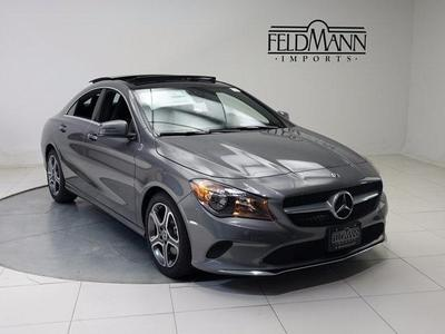 New 2018 Mercedes-Benz CLA 250 Base 4MATIC
