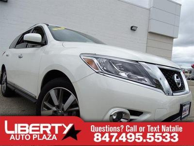New 2016 Nissan Pathfinder Platinum