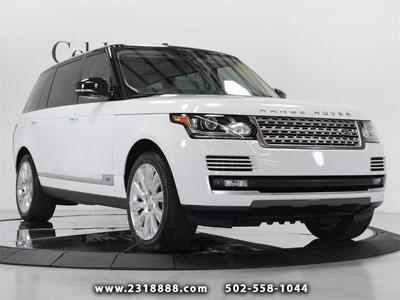 Used 2014 Land Rover Range Rover 5.0L Supercharged