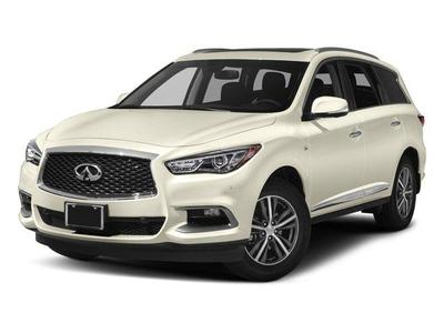Used 2017 INFINITI QX60 PREMIUM PREMIUM PLUS DELUXE TECHNOLOGY