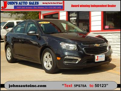 Used 2016 Chevrolet Cruze Limited 1LT