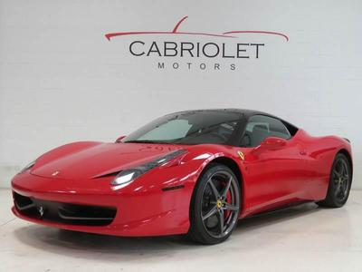 Used 2012 Ferrari 458 Italia Base