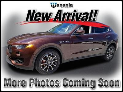 Used 2017 Maserati Levante Base