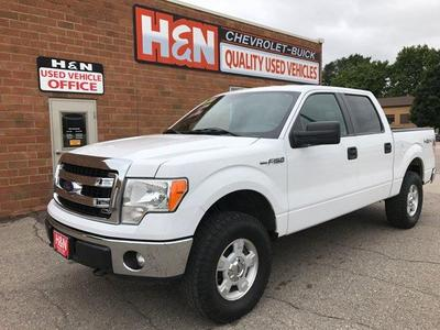 Used 2013 Ford F-150 XLT 4x4 4dr SuperCrew Styleside 5.5 ft. SB