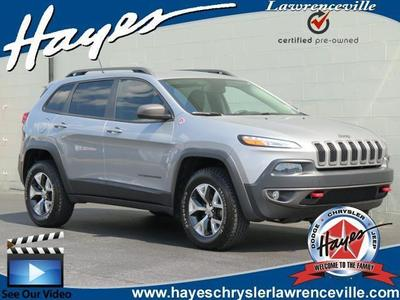 Certified 2014 Jeep Cherokee Trailhawk