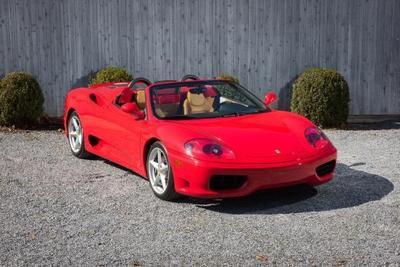 Used 2001 Ferrari 360 Spider