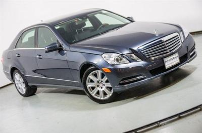 Certified 2013 Mercedes-Benz E 350 4MATIC
