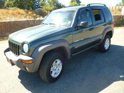 Used 2002 Jeep Liberty Sport
