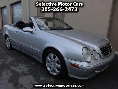 Used 2002 Mercedes-Benz CLK320