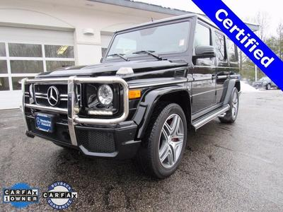 Certified 2013 Mercedes-Benz G63 AMG