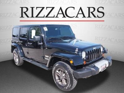 Used 2013 Jeep Wrangler Unlimited Sahara