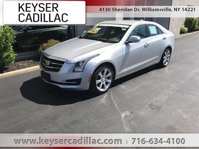 Certified 2016 Cadillac ATS 2.0 Turbo Luxury Collection