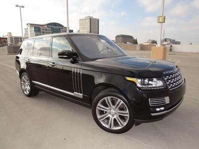 New 2016 Land Rover Range Rover 5.0L Supercharged SV Autobiography