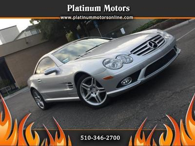 Used 2007 Mercedes-Benz SL550 Roadster