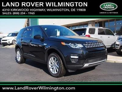 New 2016 Land Rover Discovery Sport HSE