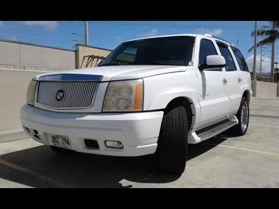 Used 2002 Cadillac Escalade