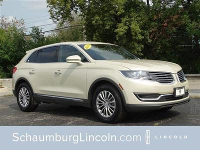 New 2016 Lincoln MKX Select