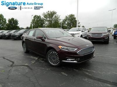 New 2017 Ford Fusion SE