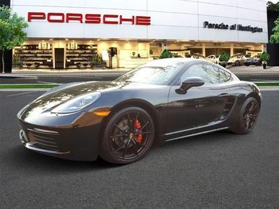 New 2017 Porsche 718 Cayman S