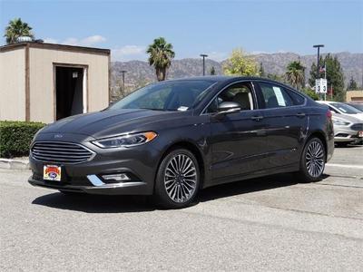 New 2017 Ford Fusion Titanium