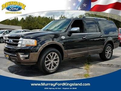 New 2017 Ford Expedition EL King Ranch