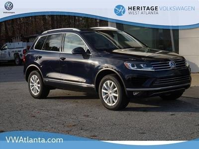 New 2017 Volkswagen Touareg V6 Sport w/Technology