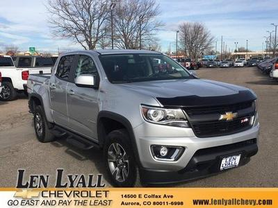 New 2017 Chevrolet Colorado Z71