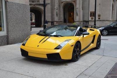 Used 2008 Lamborghini Gallardo Spyder
