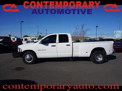 Used 2004 Dodge Ram 3500 ST Quad Cab